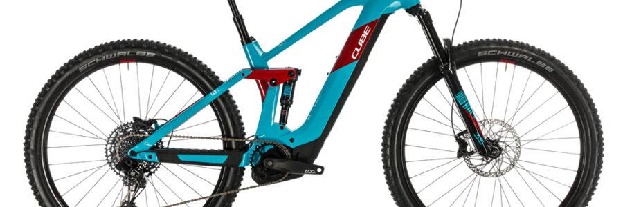 16 – Cube Stereo Race 140 625 TG S azzurra rossa